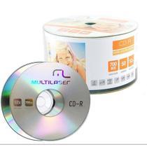 Midia CD-R Shrink Multilaser - CD051 -