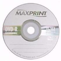 Midia Dvd-r Imprimível - Dv047 - Multilaser (1 UNIDADE) -