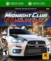Midnight Club Los Angeles Complete Edition Xbox One E 360 - Rockstar
