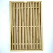 Migalheira para Pão / Bolo em Bambu 33x22cm - Onyx Trade -