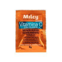 Milcy Mascara Facial Colageno E Vitamina C Sache 8G -