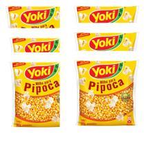 Milho de pipoca Yoki 6x500g -