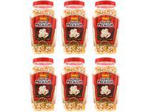 Milho de Pipoca Yoki Super Premium 650g 6 Unidades -