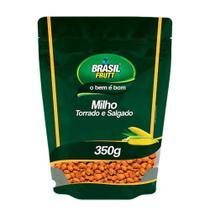Milho Torrado e Salgado Brasil Frutt 350g - Brasil Fruit -