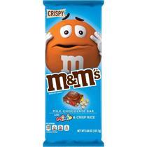 Milk chocolate bar m&m 110g crispy -