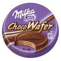Milka choco wafer 30gr coberto e recheado com choc/ ao leite -