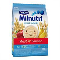 Milnutri cereal infantil banana e maca 180g - Danone