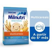Milnutri Cereal Infantil Mingau Multicereais 180g -