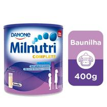 Milnutri Complete Suplemento Infantil Sabor Baunilha 400g -