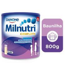 Milnutri Complete Suplemento Infantil Sabor Baunilha 800g -