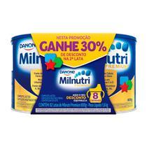 Milnutri Premium 2 Latas 800g cada Ganhe 30% de Desconto na Segunda Lata -