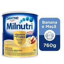 Milnutri Vitamina de Frutas Composto Lácteo Infantil Lt 760g -