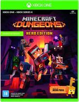 Minecraft Dungeons Hero Edition Xbox Box One - Mídia Física -