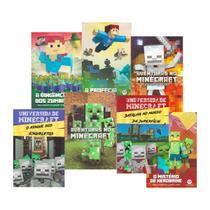 Minecraft Livros Aventura Graphic Novel Universidade - Ciranda Cultural
