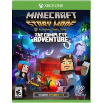 Minecraft: Story Mode - The Complete Adventure - Xbox One - Telltale games