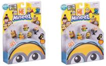 Mineez Pack 6 Unidades Kit com 2 Packs - Dtc