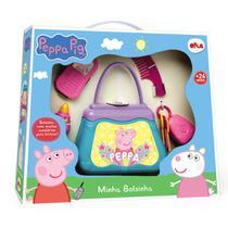 Minha Bolsinha - Peppa Pig - Azul - Elka -