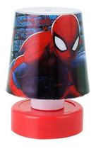Mini Abajur De Mesa Led Homem Aranha 11cm Spider Man - Etitoys