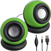 Mini alto falantes para computador usb 2.0 rad-7132 inova -