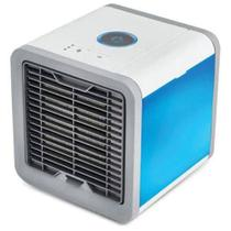 Mini Ar Condicionado Ventilador Portátil com Lâmpada Colorida USB - Ice cellar
