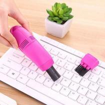 Mini Aspirador de Pó USB Portátil P/ Pequenas Áreas, Teclados, Note, PC - Remove Poeiras e Limpeza Fácil - House Tools