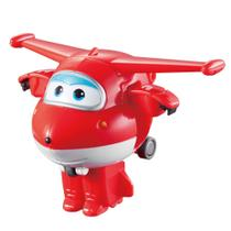 Mini Avião Super Wings - 6 cm - Jett ChangeEm Up - Intek - Intek toy