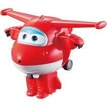 Mini Avio Super Wings 6 Cm Jett Changeem Up Intek -