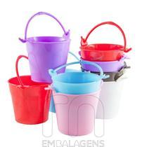 Mini Baldinho para Lembrancinha com Alças kit com 10 unid - Rn Embalagens