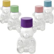 Mini Baleiro Tubete Ursinho Lembrancinha Maternidade kit com 10 unidades - Rn Embalagens