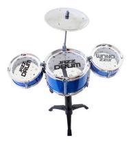 Mini Bateria Musical Infantil - 99 Toys -