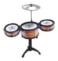 Mini Bateria Musical Infantil Jazz Drum -