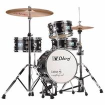 Mini Bateria Odery Café Kit Black Ash 14 -