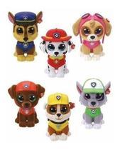 Mini Beanie Boos Patrulha Canina Surpresa Ty Kit C/30 Un -