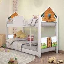 Mini Beliche Casa Montessoriana Casinha na Árvore - Mais De Casa