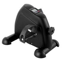 Mini bicicleta com monitor preta 55555504 - Wct Fitness