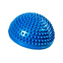Mini Bola Bosu com Base Antiderrapante Acte Sports Azul para Atividade e Exercício Físico -