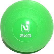 Mini Bola Peso 2Kg para Exercícios - LiveUp LS3003-2 -