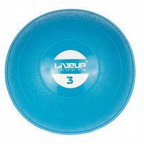 Mini Bola Peso 3Kg para Exercícios LiveUp LS3003-3 - Liveup Sports