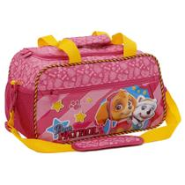 Mini Bolsa Infantil Xeryus Patrulha Canina Girl Team Rosa (13470) -