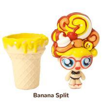 Mini Boneca 13 Cm Gelateenz com Cheirinho Sorvete Torta de Banana Split 5106 - DTC -