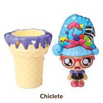 Mini Boneca 13 Cm Gelateenz com Cheirinho Sorvete Torta de Chiclete 5106 - DTC -
