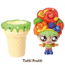 Mini Boneca 13 Cm Gelateenz com Cheirinho Sorvete Torta de Tutti Frutti 5106 - DTC -