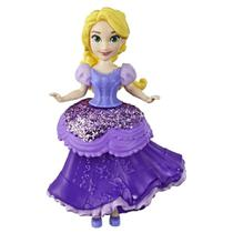 Mini Boneca - 15 Cm - Disney - Princesas - Royal Clips - Rapunzel - Hasbro - Princesas Disney