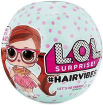 Mini Boneca Acessorios LOL Surprise Hair Vibes 15 Surpresas - Candide