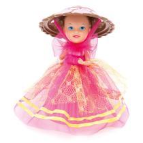 Mini Boneca - Cupcake Surpresa do Coração - Merengue - Estrela -