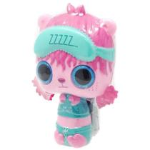 Mini Boneca e Acessórios Surpresa - Pop Pop Hair - TAPA OLHO AZUL - Candide
