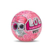 Mini Boneca Lol 7 surpresas Pets Acessórios Candide 8905 -