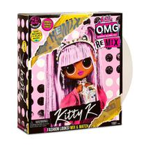 Mini Boneca LOL Surprise - OMG Remix - Kitty K - Candide -
