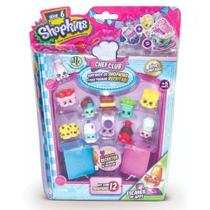 Mini Boneca Shopkins - Kit com 12 - Chef Club - Série 6 - DTC -