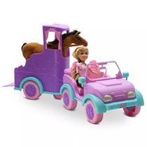 Mini Boneca - Sparkle Girlz - Passeio Equestre - Dtc -